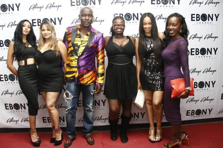 4 The Grand Opening of Ebony Lounge Westlands Naairobi Akinyi Adongo