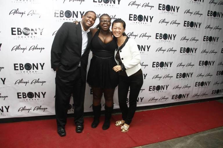 40 The Grand Opening of Ebony Lounge Westlands Naairobi Akinyi Adongo