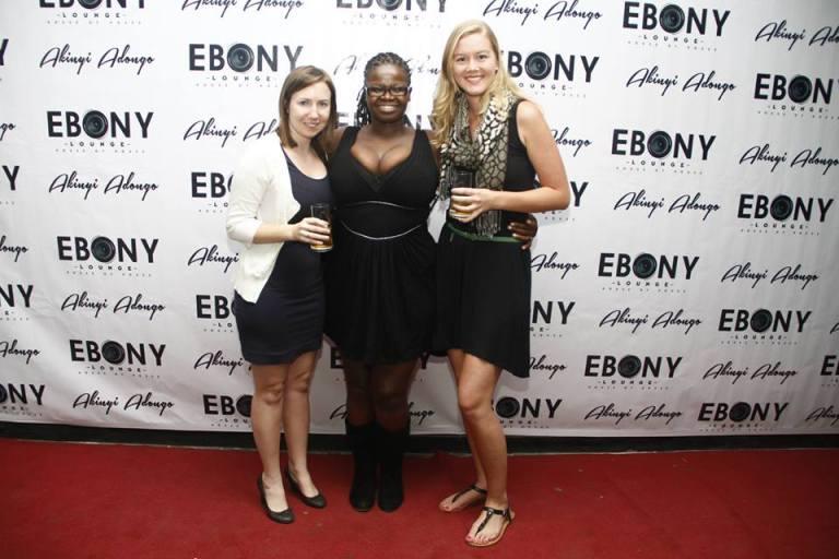 42 The Grand Opening of Ebony Lounge Westlands Naairobi Akinyi Adongo