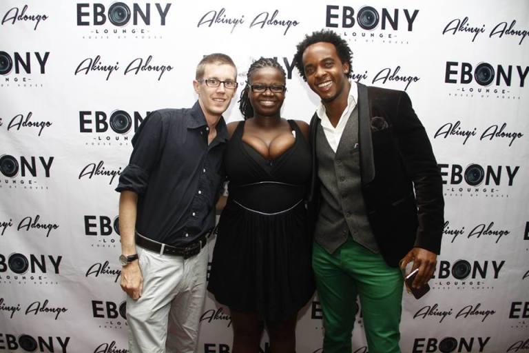 44 The Grand Opening of Ebony Lounge Westlands Naairobi Akinyi Adongo