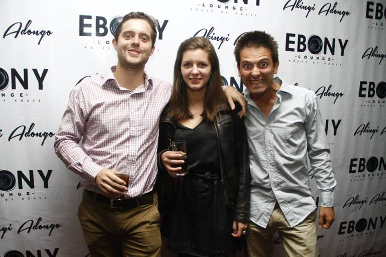 46 The Grand Opening of Ebony Lounge Westlands Naairobi Akinyi Adongo