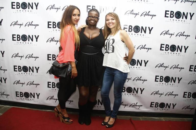 47 The Grand Opening of Ebony Lounge Westlands Naairobi Akinyi Adongo
