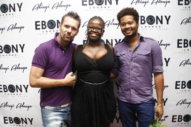 49 The Grand Opening of Ebony Lounge Westlands Naairobi Akinyi Adongo
