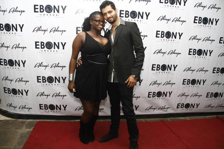 50 The Grand Opening of Ebony Lounge Westlands Naairobi Akinyi Adongo