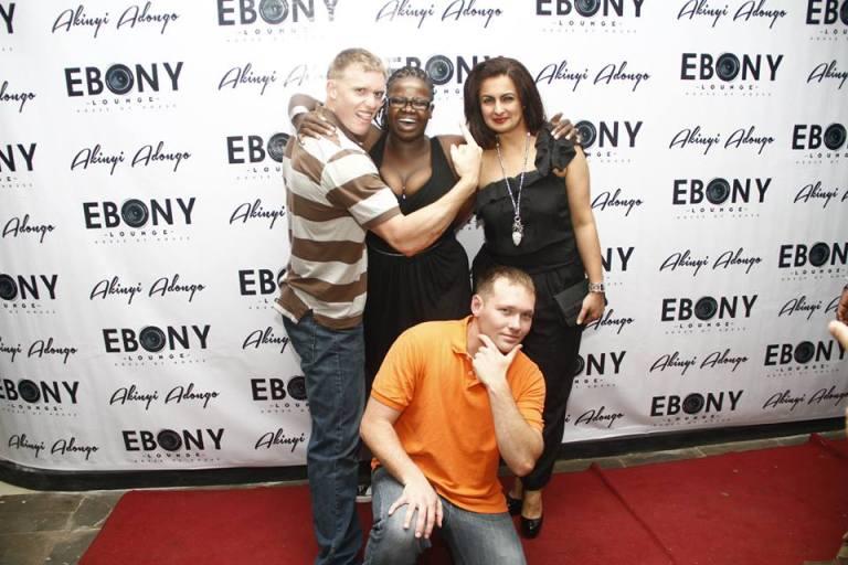 52 The Grand Opening of Ebony Lounge Westlands Naairobi Akinyi Adongo
