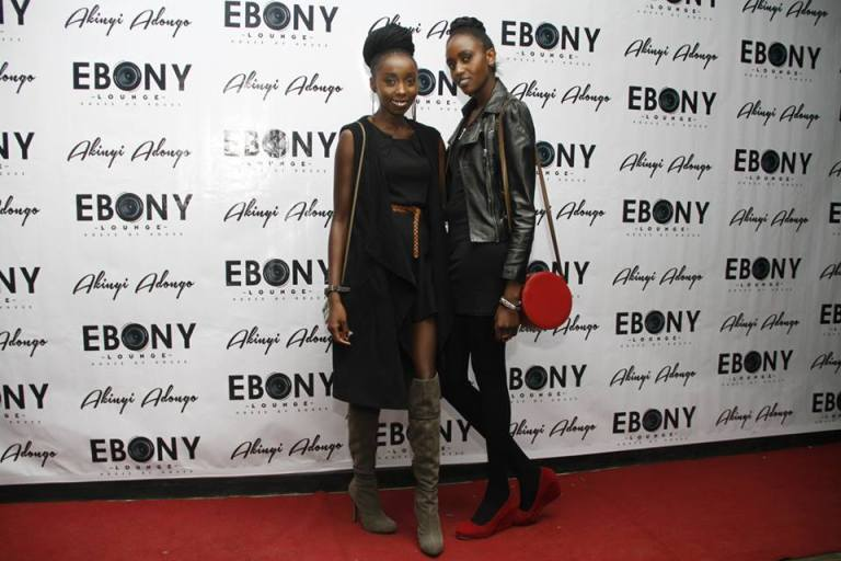 53 The Grand Opening of Ebony Lounge Westlands Naairobi Akinyi Adongo