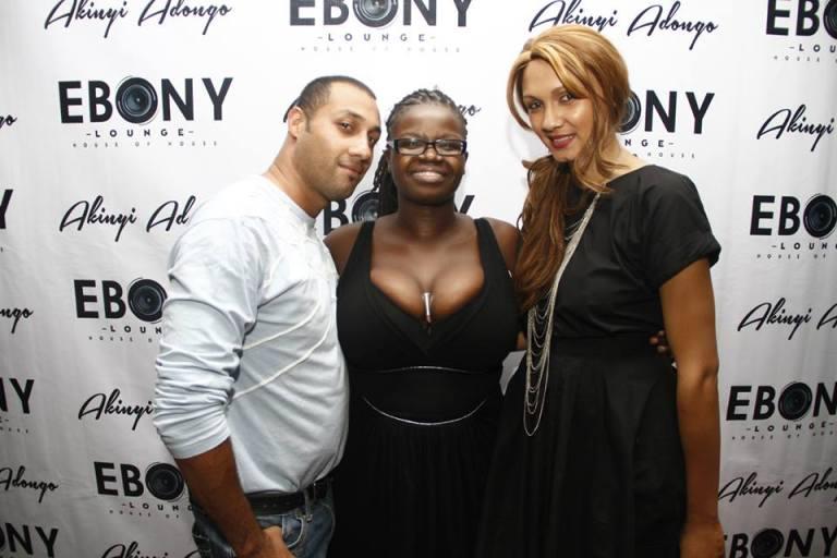 54 The Grand Opening of Ebony Lounge Westlands Naairobi Akinyi Adongo