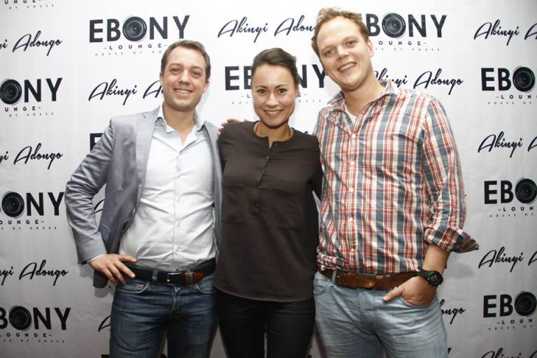 55 The Grand Opening of Ebony Lounge Westlands Naairobi Akinyi Adongo