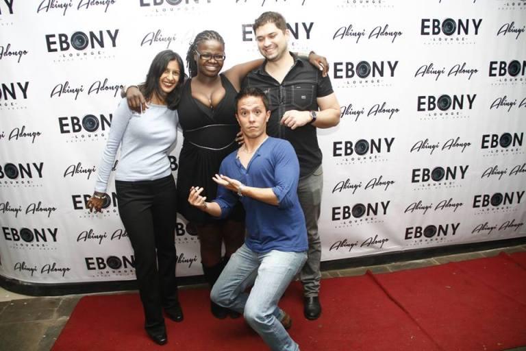 57 The Grand Opening of Ebony Lounge Westlands Naairobi Akinyi Adongo