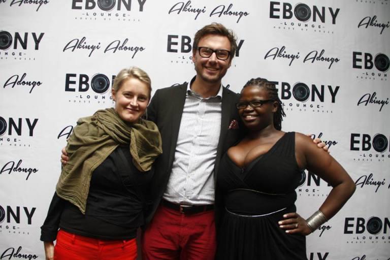 58 The Grand Opening of Ebony Lounge Westlands Naairobi Akinyi Adongo