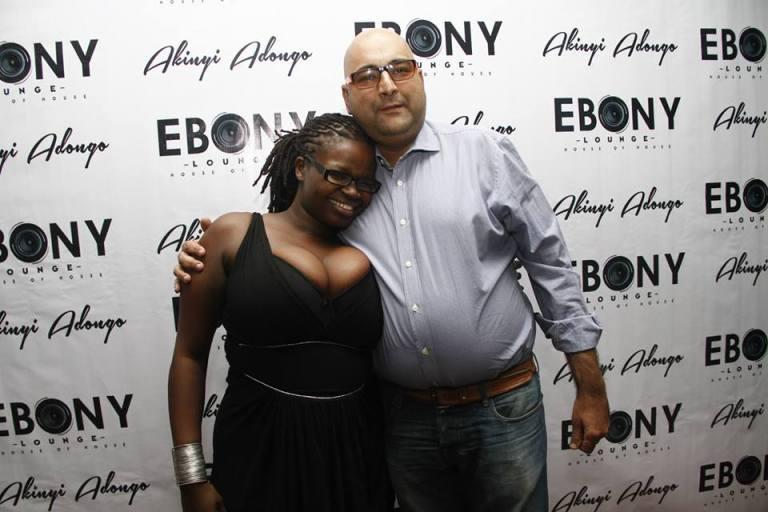 59 The Grand Opening of Ebony Lounge Westlands Naairobi Akinyi Adongo