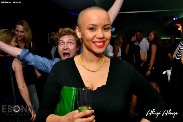 60 The Grand Opening of Ebony Lounge Westlands Naairobi Akinyi Adongo