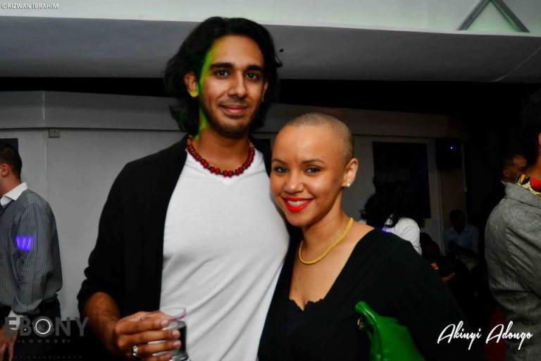 68 The Grand Opening of Ebony Lounge Westlands Naairobi Akinyi Adongo