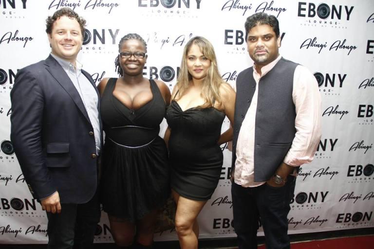 7 The Grand Opening of Ebony Lounge Westlands Naairobi Akinyi Adongo