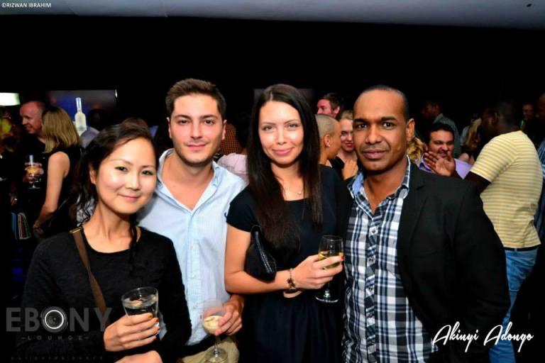 71 The Grand Opening of Ebony Lounge Westlands Naairobi Akinyi Adongo