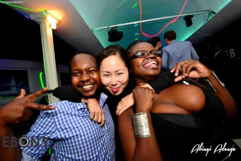 76 The Grand Opening of Ebony Lounge Westlands Naairobi Akinyi Adongo