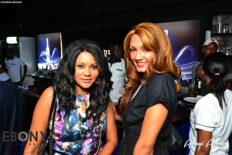 79 The Grand Opening of Ebony Lounge Westlands Naairobi Akinyi Adongo