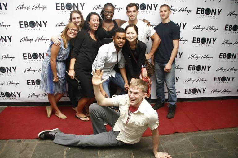 8 The Grand Opening of Ebony Lounge Westlands Naairobi Akinyi Adongo