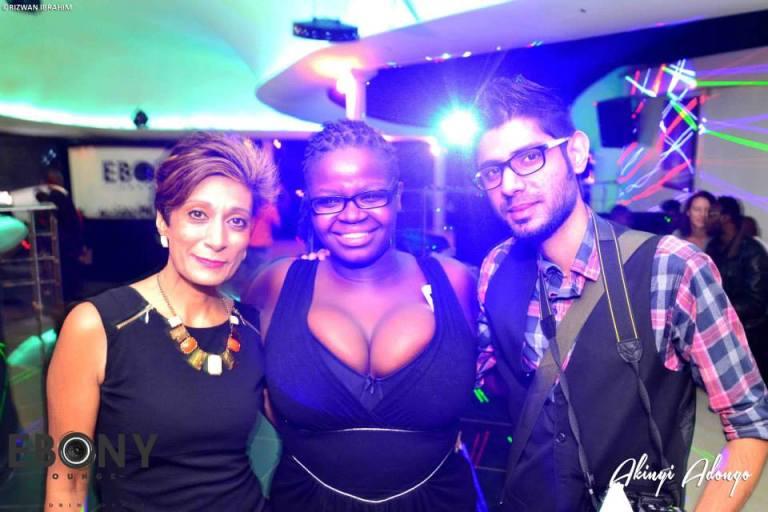 81 The Grand Opening of Ebony Lounge Westlands Naairobi Akinyi Adongo