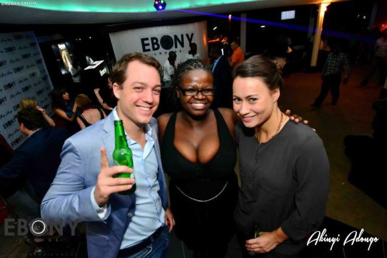 82 The Grand Opening of Ebony Lounge Westlands Naairobi Akinyi Adongo