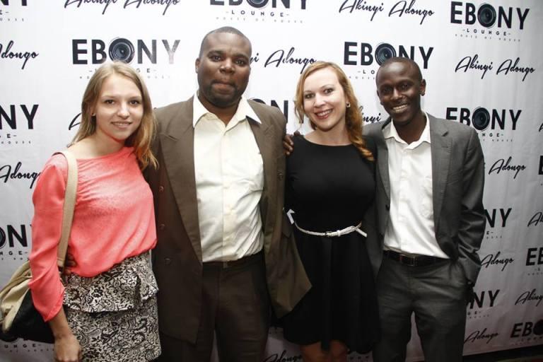 86 The Grand Opening of Ebony Lounge Westlands Naairobi Akinyi Adongo