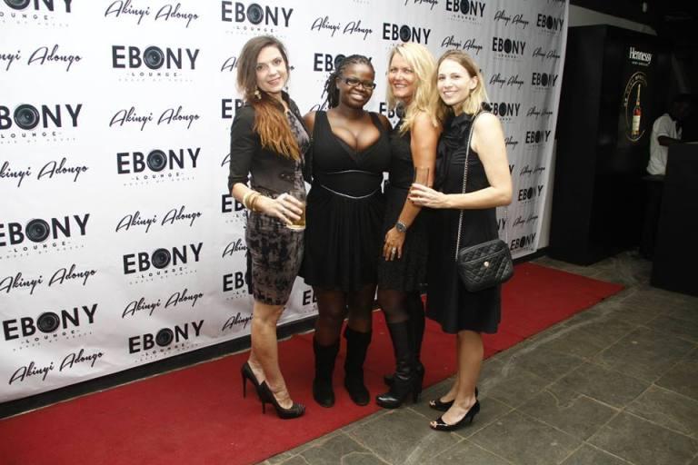 88 The Grand Opening of Ebony Lounge Westlands Naairobi Akinyi Adongo