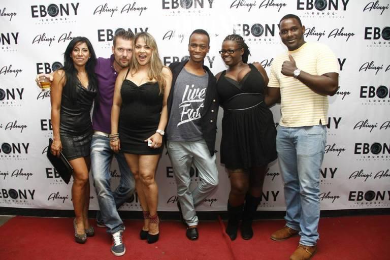 9 The Grand Opening of Ebony Lounge Westlands Naairobi Akinyi Adongo