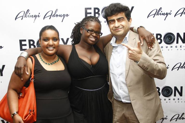 90 The Grand Opening of Ebony Lounge Westlands Naairobi Akinyi Adongo