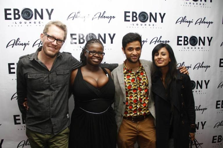 91 The Grand Opening of Ebony Lounge Westlands Naairobi Akinyi Adongo