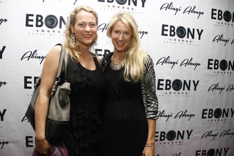 92 The Grand Opening of Ebony Lounge Westlands Naairobi Akinyi Adongo