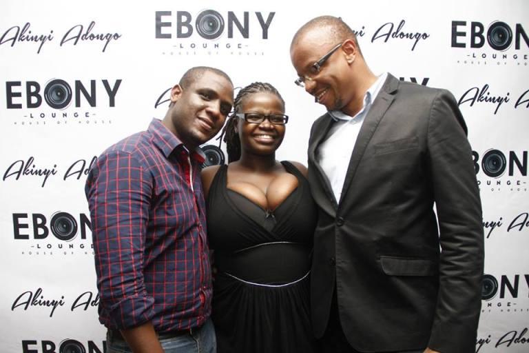 95 The Grand Opening of Ebony Lounge Westlands Naairobi Akinyi Adongo