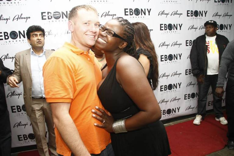 98 The Grand Opening of Ebony Lounge Westlands Naairobi Akinyi Adongo