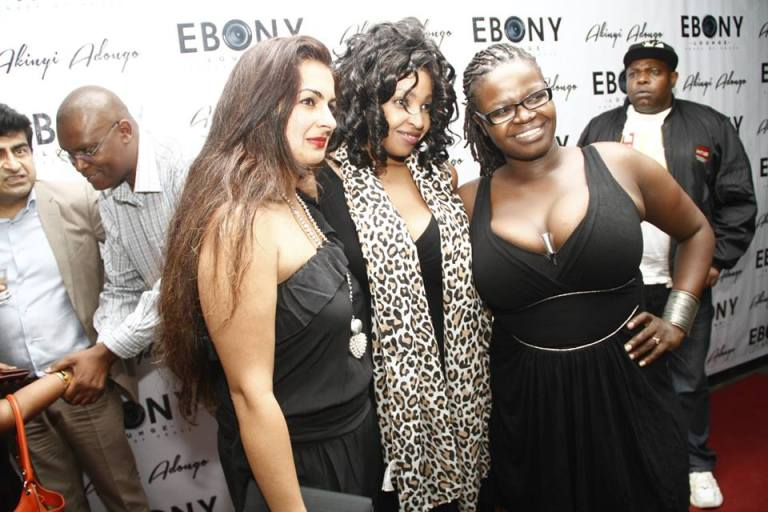 99 The Grand Opening of Ebony Lounge Westlands Naairobi Akinyi Adongo