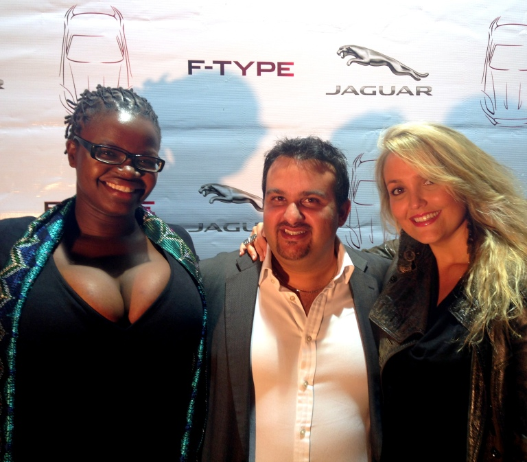 Jaguar F Type Launch in Nairobi Akinyi Adongo 13