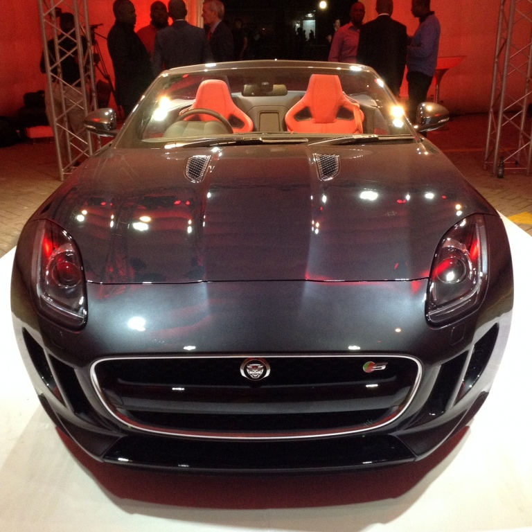 Jaguar F Type Launch in Nairobi Akinyi Adongo 18