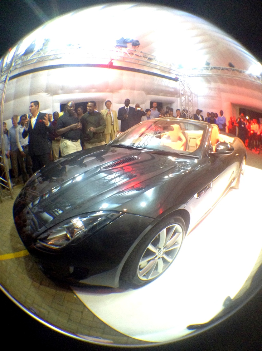 Jaguar F Type Launch in Nairobi Akinyi Adongo 21