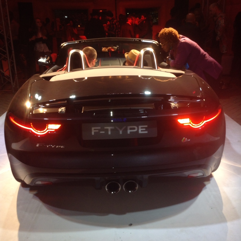 Jaguar F Type Launch in Nairobi Akinyi Adongo 23
