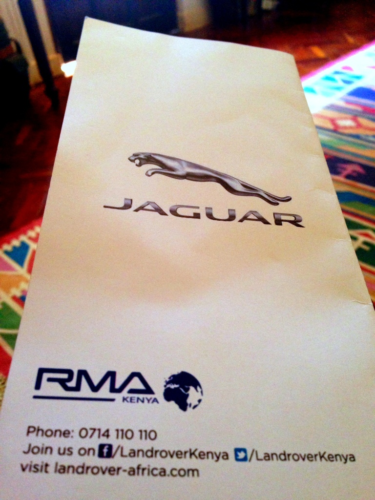 Jaguar F Type Launch Invitation Card Nairobi Akinyi Adongo 12