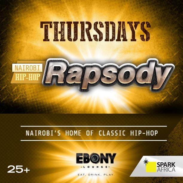 Thursday Ebony Lounge Nairobi Hip Hop Rapsody Akinyi Adongo