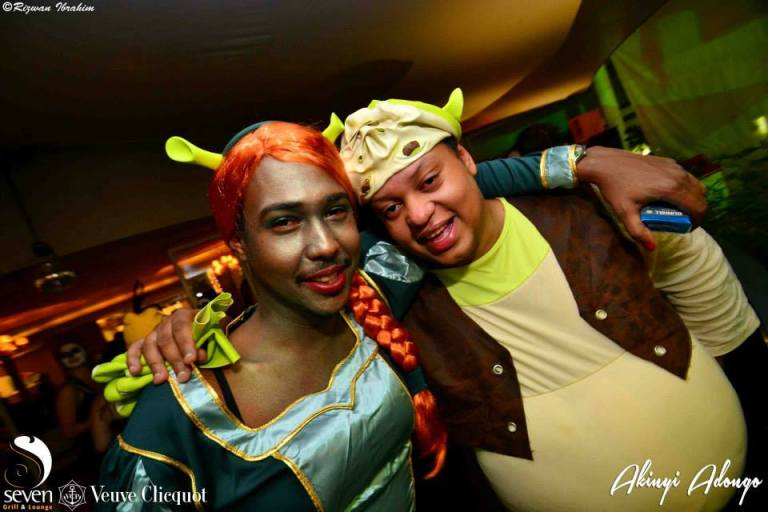 101 Akinyi Adongo Halloween Yelloween Party Veuve Clicquot Nairobi