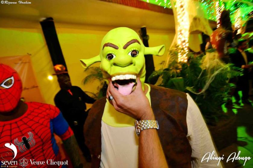 103 Akinyi Adongo Halloween Yelloween Party Veuve Clicquot Nairobi