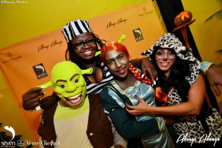 106 Akinyi Adongo Halloween Yelloween Party Veuve Clicquot Nairobi