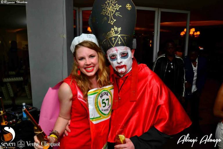 107 Akinyi Adongo Halloween Yelloween Party Veuve Clicquot Nairobi