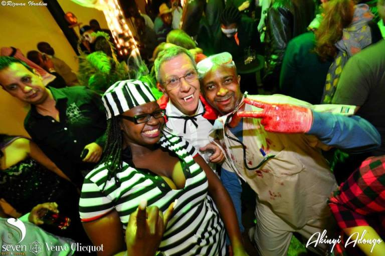 109 Akinyi Adongo Halloween Yelloween Party Veuve Clicquot Nairobi