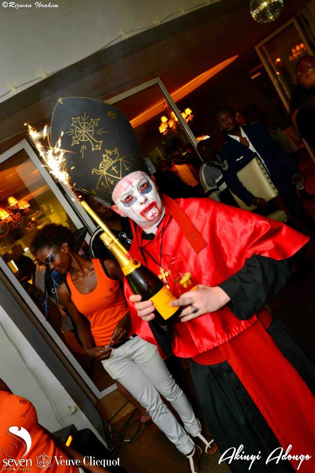 11 Akinyi Adongo Halloween Yelloween Party Veuve Clicquot Nairobi