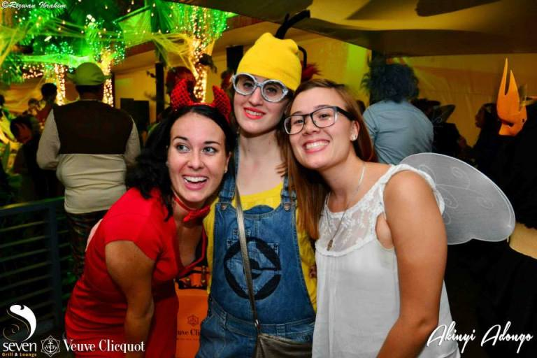 112 Akinyi Adongo Halloween Yelloween Party Veuve Clicquot Nairobi