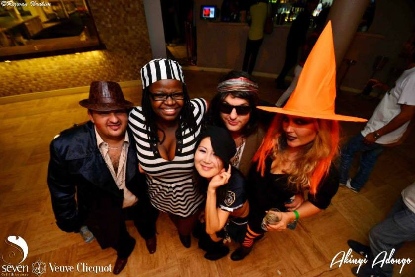 113 Akinyi Adongo Halloween Yelloween Party Veuve Clicquot Nairobi