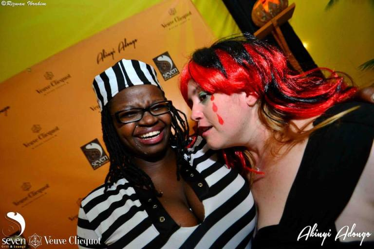 114 Akinyi Adongo Halloween Yelloween Party Veuve Clicquot Nairobi