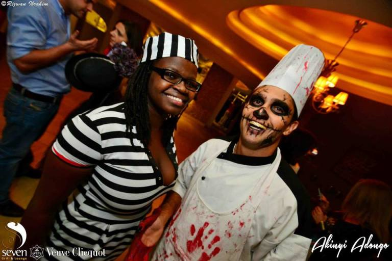 115 Akinyi Adongo Halloween Yelloween Party Veuve Clicquot Nairobi