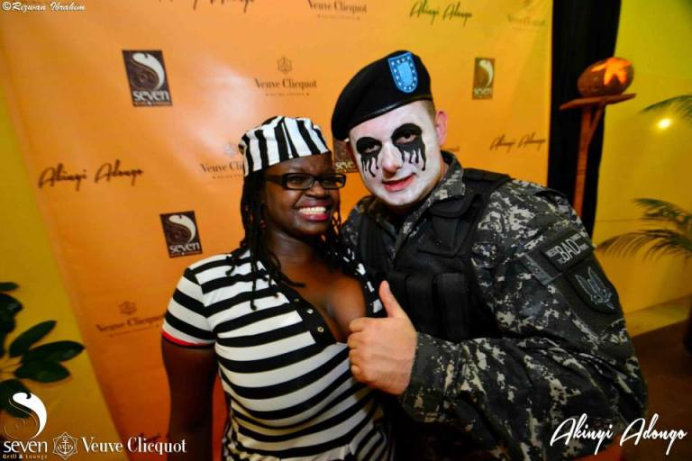 117 Akinyi Adongo Halloween Yelloween Party Veuve Clicquot Nairobi